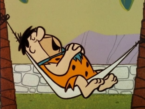 Fred Flintstone Taking a Nap the flintstones 7005103 500 376 Top 10 Most Loved Cartoon Characters of All Time