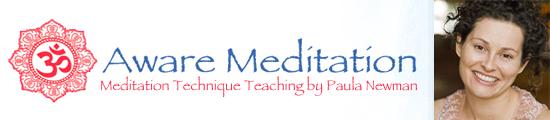 Aware Meditation with Paula Newman
